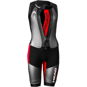Head Swimrun MyBoost SL Wetsuit Women black-silver-red